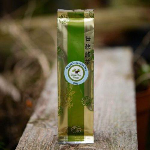100g japanese organic sencha tea